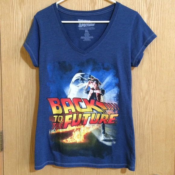 Universal Tops - Back To The Future Graphic Shirt